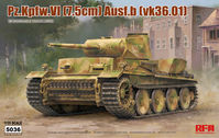 PZ.KPFW.VI AUSF.B (VK36.01) W/ WORKABLE TRACK LINKS