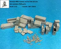 German WW II Flak 20 mm ammo set (PUR parts)