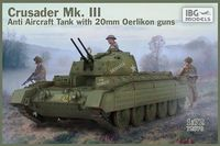 Crusader Mk. III Anti Aircraft Tank with 20mm Oerlikon guns - Image 1