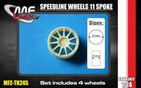 Speedline wheels 11 spoke 5 screw - Image 1