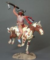 Indian Warrior Mounted - Image 1
