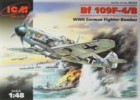 Bf 109F-4/B WWI German Fighter-bomber