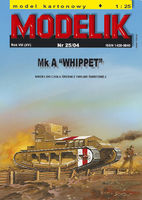 WHIPPET BRITISH MEDIUM TANK FROM W.W. 2nd