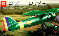 Polish IIWW fighter PZL P-7a Lotnictwo Rumunii
