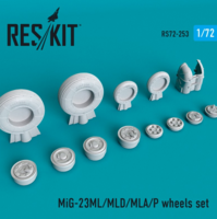 MiG-23(ML/MLD/MLA/P)  wheels set