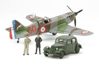 "Dewoitine D.520 ""French Aces"" - w/Staff Car"
