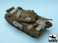 Crusader Mk.III accessories set for Tamiya 32555, 8 resin parts - Image 1