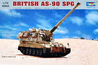 British AS-90 SPG