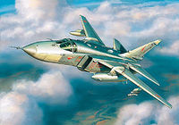 Sukhoi Su-24MR Russian Fighter