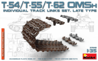 T-54,T-55,T-62 OMSh INDIVIDUAL TRACK LINKS SET. LATE TYPE - Image 1