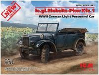 le.gl.Einheits-Pkw Kfz.1 WWII German Light Personnel Car - Image 1