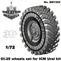 OI-25 wheels set for ICM Ural kit (New master model!) - Image 1