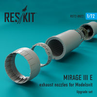 MIRAGE III E exhaust nozzles for Modelsvit - Image 1