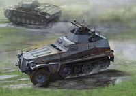 Sd.Kfz 250/4 mit Zwilling MG 34