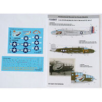U.S.A.F. North American B-25C/D Mitchell Pin-Up Nose Art and Stencils (Part II)