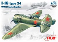 I-16 type24  WWII Soviet fighter - Image 1
