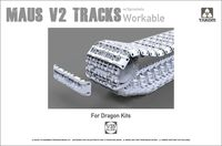 Maus V2 Tracks with sprockets for Dragon kits - Image 1