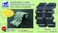 Leopard 2 MBT Workable Track Link Set - Image 1