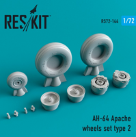 AH-64 Apache  wheels set Type 2