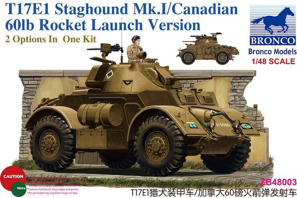 T17E1 Staghound Mk.I/Canadian 60lb Rocket Launch Version - Image 1