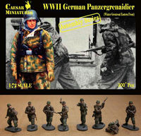 German Panzergrenaidier Winter Greatcoat Eastern Front (ASSEMBLY SERIES)