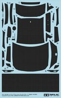 Toyota 86 Dress-Up Decal Set (Carbon Pattern)