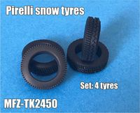 Pirelli snow tyres 5 pieces - Image 1