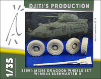 M1296 Dragoon Wheels Set W/MK44 BUSHMASTER II - Image 1