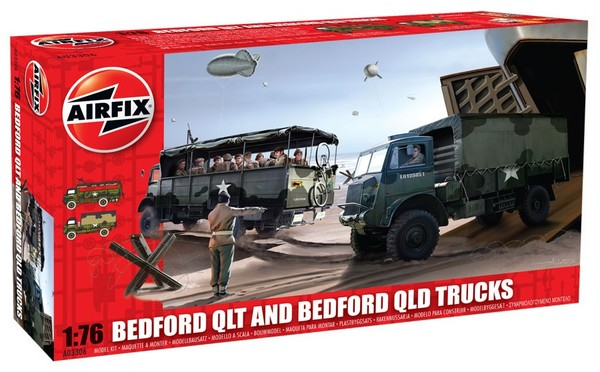 Bedford QLT and Bedford QLD Trucks - Image 1