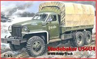 American heavy truck Studebaker US6 U4 with Canvas - Image 1