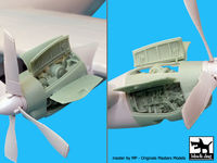 AC-130H Hercules 2 Engines for Italeri