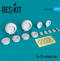 Su-33 wheels set