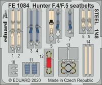 Hunter F.4/F.5 seatbelts STEEL AIRFIX - Image 1