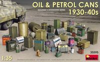Oil & Petrol Cans 1930s-1940s - Image 1