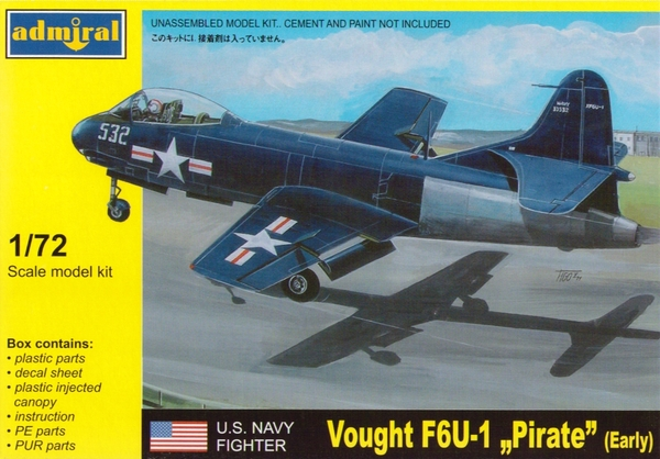 "Vought F6U-1 ""Pirate"" Early - Image 1"
