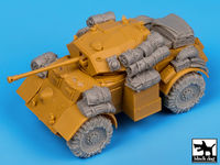 British Staghound Mk III accessories set for Bronco models - Image 1