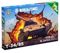 T-34/85 - WoT - Easy to Build