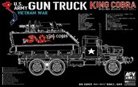 "US Army Vietnam war Gun Truck ""King COBRA"" M113 + M54 - Image 1"