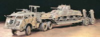 US 40 Ton Tank Transporter Dragon Wagon