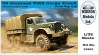 US Diamond T968 Cargo Truck Hard Top Cab - Image 1