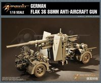 German Flak 36 88mm Anti-Aircraft Gun