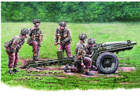 75mm Pack Howitzer M1A1(British Airborne Version) & Gun Crew