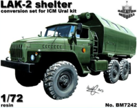 LAK-2 shelter for Ural-375/4320 kit