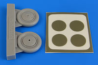 I-153 Chaika wheels & paint masks  ICM - Image 1