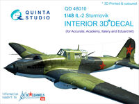 IL-2 3D-Printed & coloured Interior on decal paper - Image 1