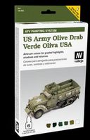 78402 AFV Painting System - US Army Olive Drab Set