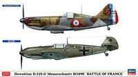 Dewoitine D.520 & Messerschmitt Bf109E Battle of France - Image 1