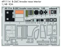 B-26C Invader nose interior ICM