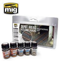 A.MIG-7470 DEPOT AREAS - SLUDGE TRACKS WEATHERING SET