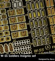 W-SS Soldiers Insignia set